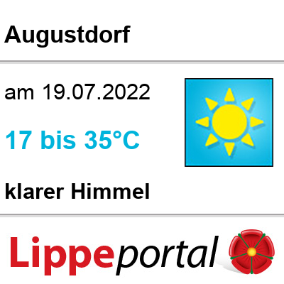 Das Wetter morgen in Augustdorf