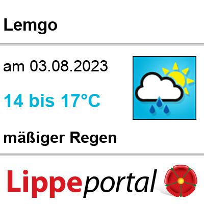 Das Wetter morgen in Lemgo