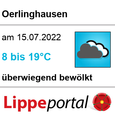 Das Wetter morgen in Oerlinghausen