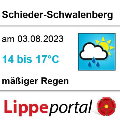 Das Wetter morgen in Schieder-Schwalenberg