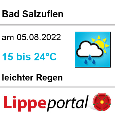 Das Wetter morgen in Bad Salzuflen