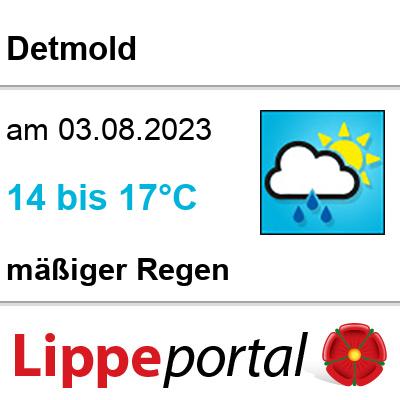 Wetter in Lippe - Detmold