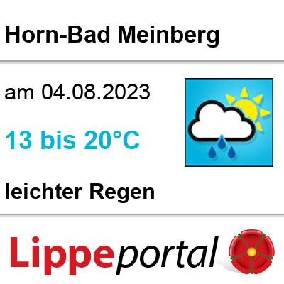 Das Wetter morgen in Horn-Bad Meinberg